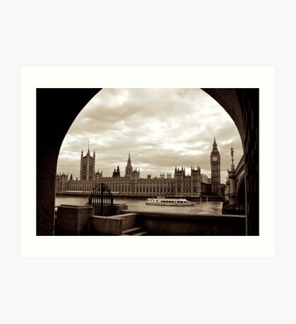 Parliament! Art Print