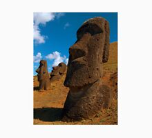 Imposing Heads, Easter Island Unisex T-Shirt