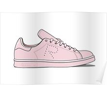 Raf Simons x Adidas Stan Smith Illustration Poster