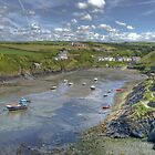 Abercastle, North Pembrokeshire, Wales by Bob Culshaw