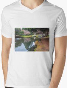 Botanic Gardens of Queenstown Mens V-Neck T-Shirt