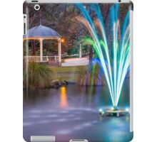 Fountain Light Show iPad Case/Skin