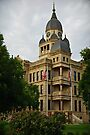 Denton County Courthouse on the Square by Charles Dobbs Photography
