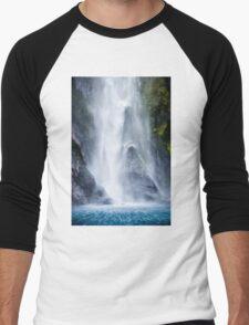 Wraiths of the Falls Men's Baseball ¾ T-Shirt