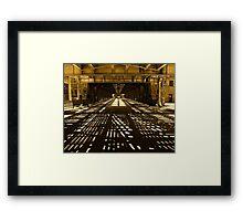 Chicago-Beneath Gotham Framed Print