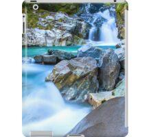 Waterfall in Fiordland National Park iPad Case/Skin
