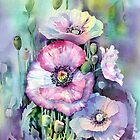 Shirley Poppies by Ann Mortimer