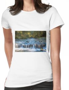 Paradise Waterfall Womens Fitted T-Shirt