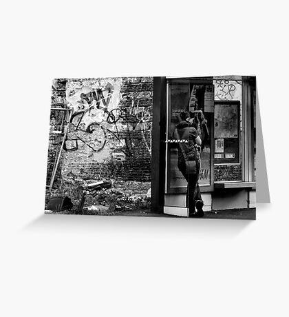 Urban decay Greeting Card