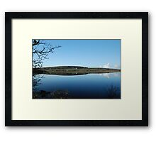 Carran Village By Reflections Co Clare Ireland Framed Print