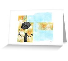 Textural Boundary Greeting Card