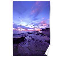 Burns beach sunset 2 Poster