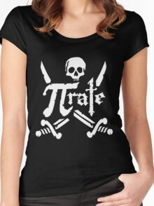 Pi Rate - 3.14 Pirate Women's Fitted Scoop T-Shirt