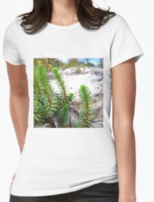 Dune Plant Life Womens Fitted T-Shirt