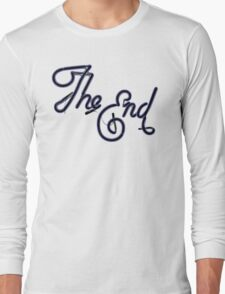 THE END! Long Sleeve T-Shirt