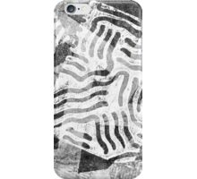 The Boxed In Abstract - Digitally Enahanced Version 1 iPhone Case/Skin