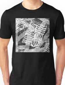 The Boxed In Abstract - Digitally Enahanced Version 1 Unisex T-Shirt