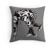 Chimpocalypse Throw Pillow