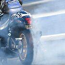 Drag Bike Burn Out by inmotionphotog