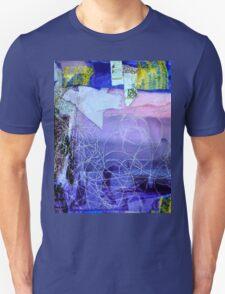 Bird in landscape Unisex T-Shirt