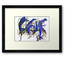 Ricky - Abstract Framed Print