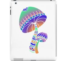 Shroom Inverted - blue/orange/green/purple iPad Case/Skin