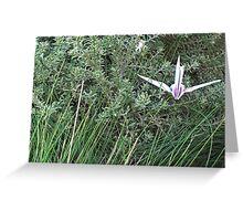 crane 2 Greeting Card