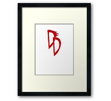 All-New Man Without Fear Framed Print