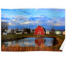 Pondside Farms Poster
