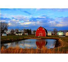 Pondside Farms Photographic Print