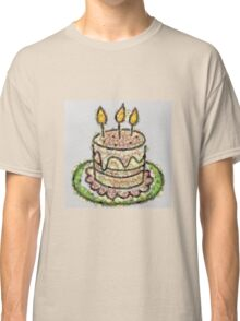 Fruit & Vegetable Birthday Cake Classic T-Shirt