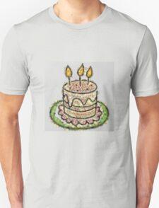 Fruit & Vegetable Birthday Cake Unisex T-Shirt