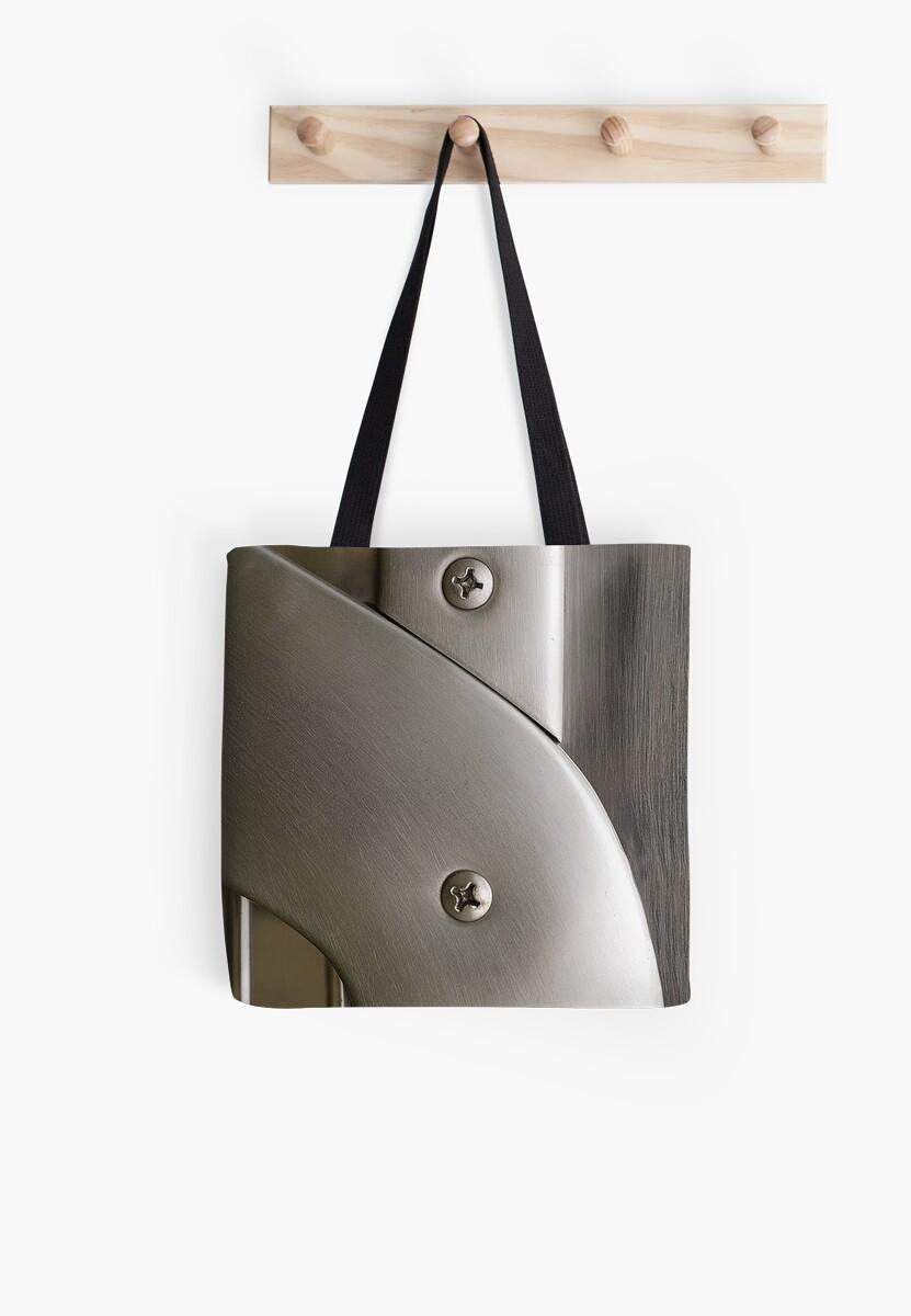 Brushed metal by Gisele Bedard