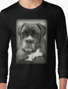 Is That For Me?.... Boxer Dogs Series  Long Sleeve T-Shirt