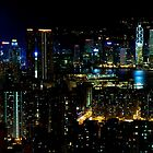 A classic Hong Kong skyline by michswiss