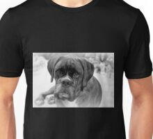 Contemplating My New Years Resolution ~ Boxer Dogs Series Unisex T-Shirt