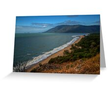 Panoramic view from Rex lookout, Queensland Greeting Card