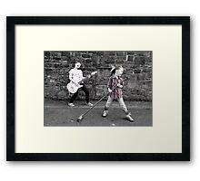 Rock Out Framed Print