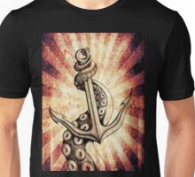 Rise of the Deep Ones (Red Retro Edit) Unisex T-Shirt