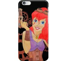 Steampunk Ariel - Edited iPhone Case/Skin