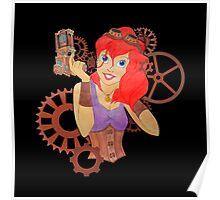 Steampunk Ariel - Edited Poster