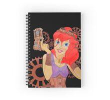 Steampunk Ariel - Edited Spiral Notebook
