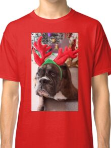 Reindeer This Year?...... Anything For That Cookie! - Boxer Dogs Series Classic T-Shirt