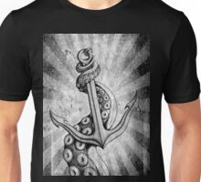 Rise of the Deep Ones (Black & White Retro Edit) Unisex T-Shirt