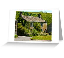 Ivy Cottage Arncliffe Greeting Card