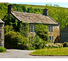 Ivy Cottage Arncliffe Photographic Print