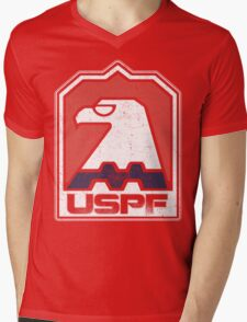 USPF Mens V-Neck T-Shirt