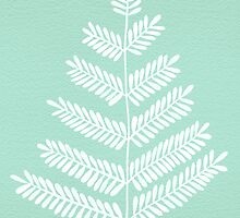 Mint Leaflets by Cat Coquillette