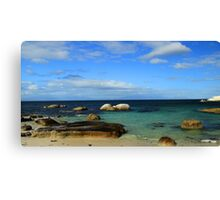 Boulders Beach,  South Africa Canvas Print
