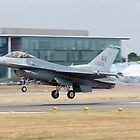 USAF F-16, Farnborough Air SHow 2010 by Colin Hollywood Photography
